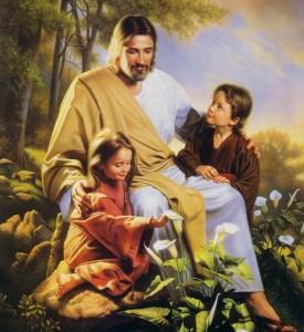 Jesus-criancas